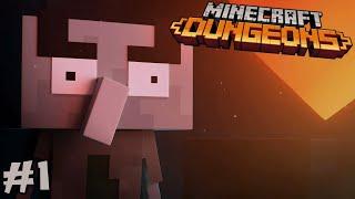 THE NEW MINECRAFT RPG GAME IS HERE! || Minecraft Dungeons Playthrough Episode 1