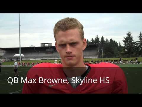 Skyline HS QB Max Browne