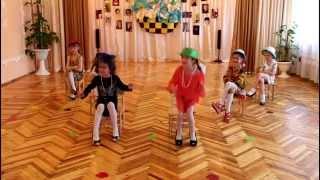 Танец в маминых туфлях. ДОУ №8 'Малыш' г.Шахтёрск Украина