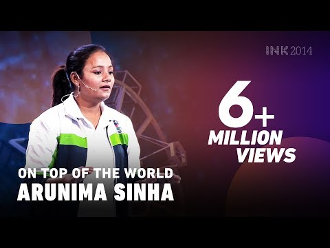 Arunima Sinha: On top of the world