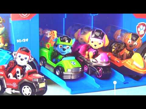 Nick Jr. PAW PATROL FULL Sets, Air Patroller, Headquarters, Lookout, Pup Cruiser Play Chase / TUYC