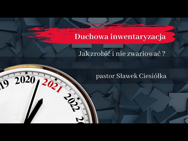 Nabożeństwo dziękczynne za 2020 r.