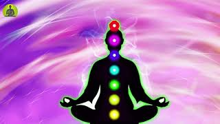 """Aura Cleansing & Boost Positive Energy"" Powerful Meditation Music, All 7 Chakra Balancing & Healing"