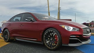 Forza Motorsport 7 - Infiniti Q50 Eau Rouge 2014 - Test Drive Gameplay (HD) [1080p60FPS]