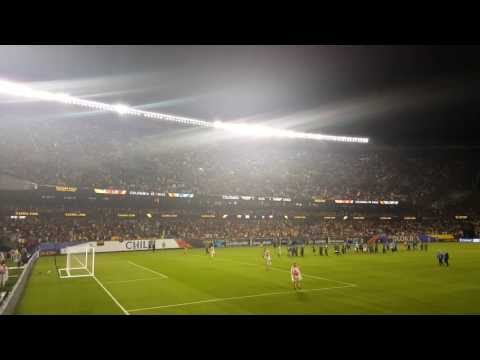 Colombia vs Chile Copa America Soldier Field Halftime Water Clean Up