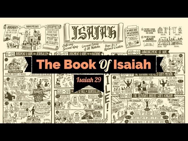 Isaiah 29 | Sis. Rachelle Parton