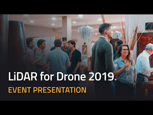 Yellowscan - LiDAR pour Drone 2019