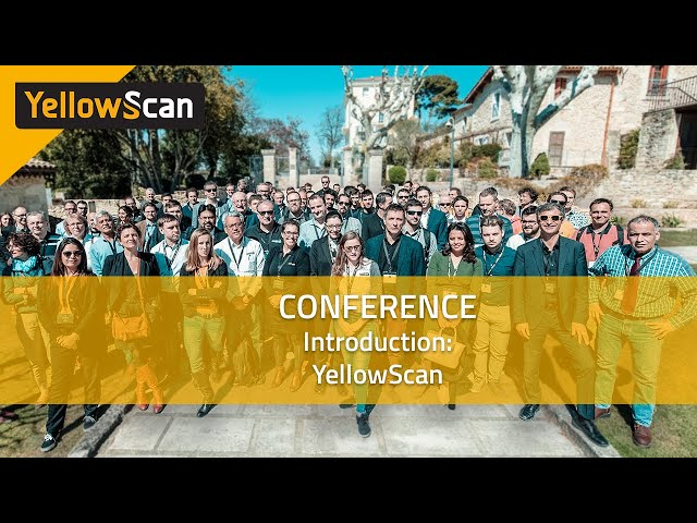 Escáner Amarillo - LiDAR para Drone 2019