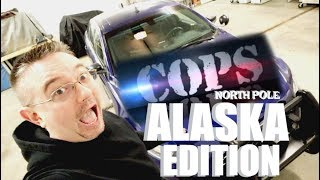 COPS NORTH POLE ALASKA EDITION| RIDE ALONG WITH A POLICE OFFICER | Somers In Alaska