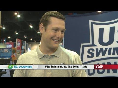 Nebraska native and Olympic swimmer Scott Usher