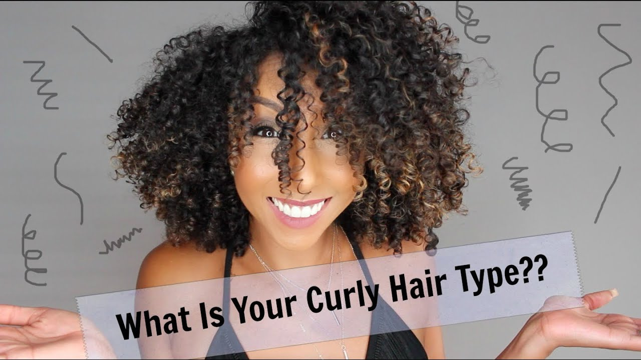 hair care curly hair types chart & textures guide: the
