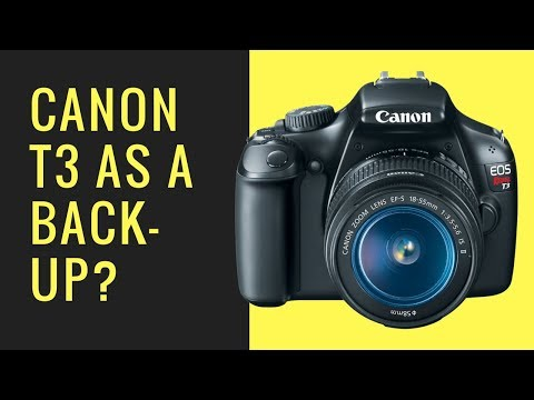 Is the Canon T3 a GOOD Back-Up Camera to My Canon T5i?