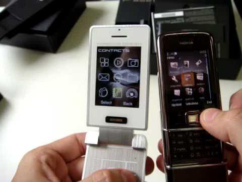 Nokia 8800 Sapphire vs Sagem Porsche Cellulare-Magazine.it I