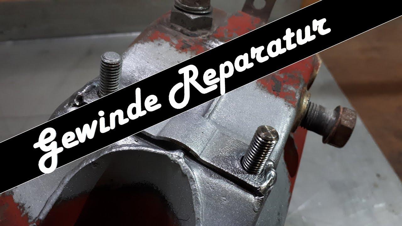 Gewinde Reparieren | Stehbolzen Reparatur | Gewindebolzen Anfertigen