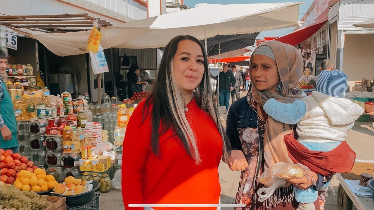 Таджикистан ! Восточный БАЗАР ! Таджикский ПЛОВ и шашлыки . САМСА . Какие НОЖИ продают на базаре?