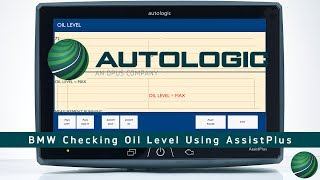 BMW E90 Engine Oil Level Using AssistPlus