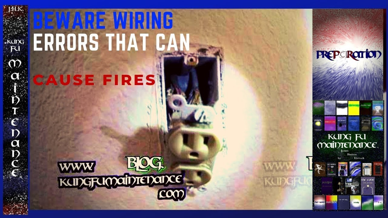 electrical outlet wiring errors cause plus effects fire prevention rh youtube com Wiring Kitchen Outlets Wiring Multiple Outlets
