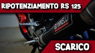 RIPOTENZIAMENTO RS 125 - #1 SCARICO [SOUND CHECK ORIGINAL VS GIANNELLI]