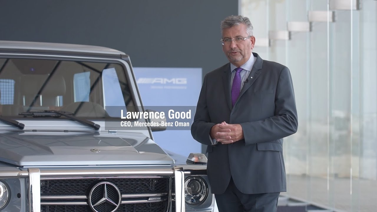 Interview: Lawrence Good, CEO, Mercedes Benz Oman - YouTube
