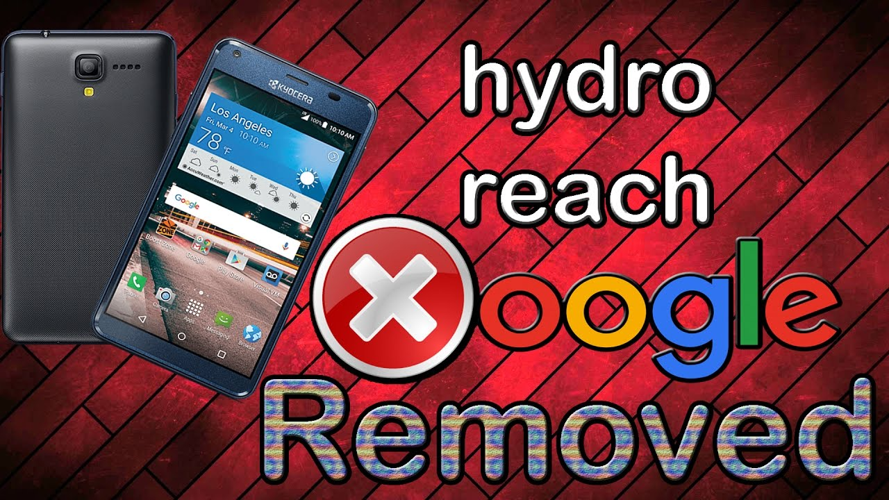 Hydro Reach google account bypassed & Removed (ONLY METHOD)