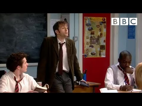 David Tennant is Catherine Tate's new English teacher! | Comic Relief - BBC