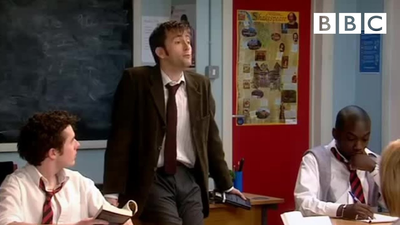 Download David Tennant is Catherine Tate's new English teacher! | Comic Relief - BBC