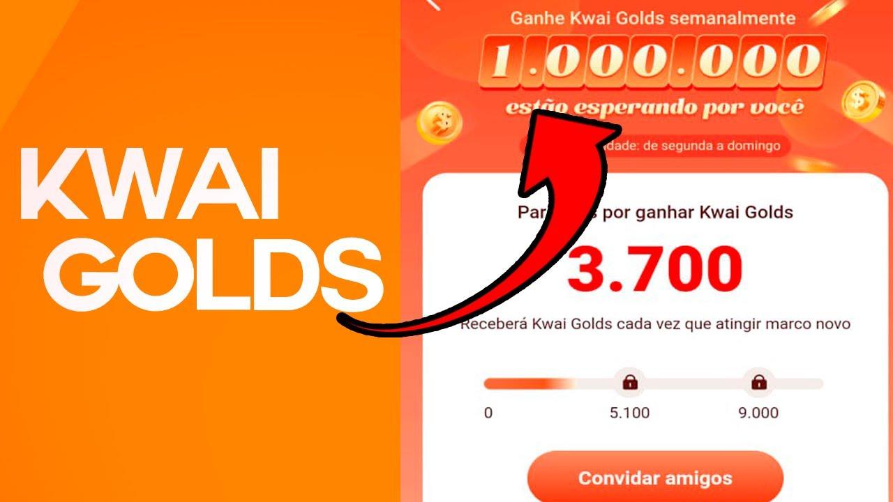 NOVO BÔNUS NO KWAI GANHE 1.000.000  GOLDS TODA SEMANA   GI COSTA