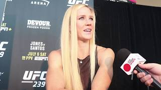 Holly Holm defends JacksonWink gym after comments made by Diego Sanchez
