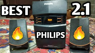 Philips 2 1 MMS-2550F 94 Multimedia Speakers REVIEW