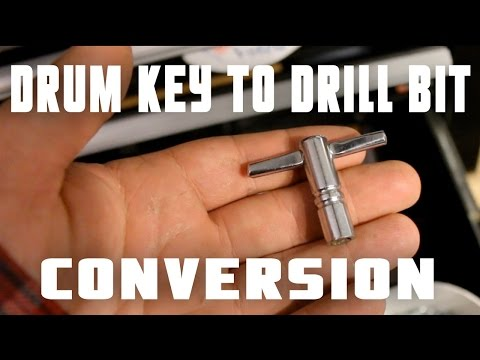 How to Make a Drum Key Drill Bit