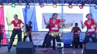 "Jax Dance Fitness dancing to ""Bebot"" at Filipino Pride Day 2013"