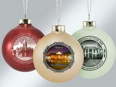 Custom Christmas Ornaments - Custom Christmas Ornaments - YouTube