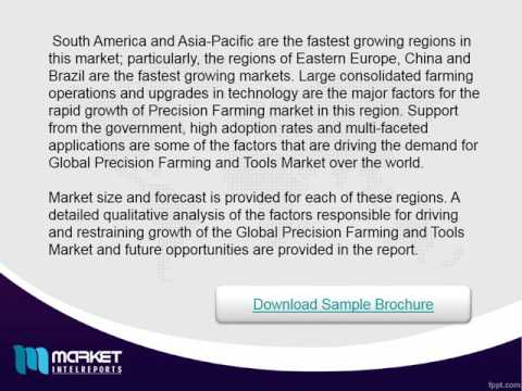In-Depth Geographical-wise Analysis of Precision Agriculture Market