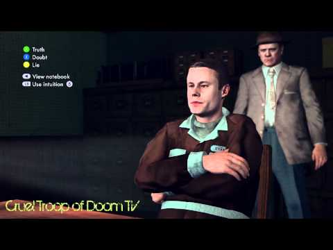 L.A. Noire: Perfect Interrogation  Matthew Ryan at Central Station The Gas Men Case