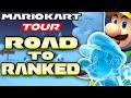 NO Ice Mario & NO Penguin Luigi! Mario Kart Tour Ice Tour! (ROAD TO RANKED)