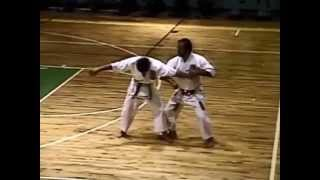Martinez Isshinryu Karate / Tuite Demo 1990 - Fort Buchanan, Puerto Rico