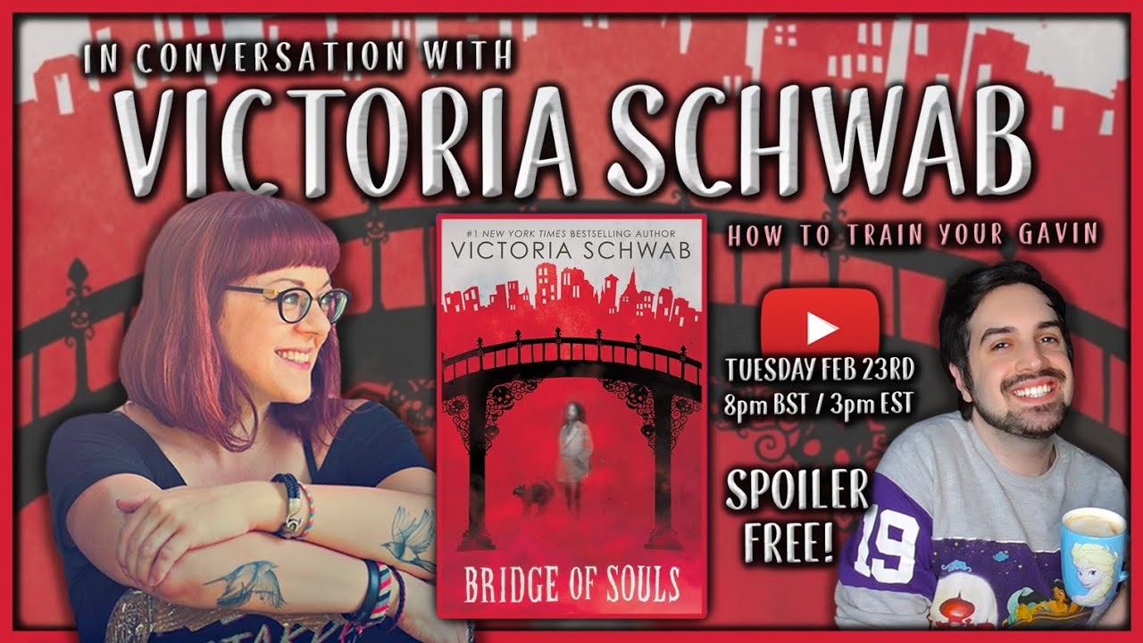 In Conversation With Victoria Schwab 👻 Bridge of Souls Interview