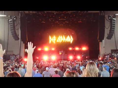 Def Leppard - Let's Go - 06/25/17 - Indianapolis - Klipsch Music Center