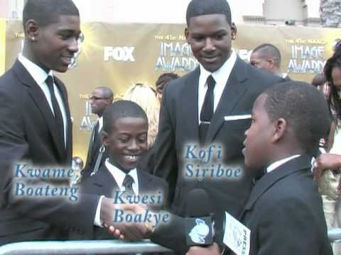 KEC TV s with Young Celebrities at the 2010 NAACP  Awards
