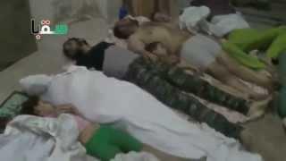 Сирия. Ассад убил 21 августа 2013 года химческим оружием более 1500 мусульман!