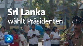 Inmitten der Krise: Sri Lanka wählt eneuen Präsidenten
