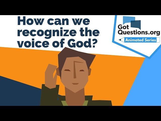 How can we recognize the voice of God?