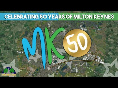 MK50 - TMA Celebrate the 50th birthday of Milton Keynes.