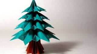 Christmas Origami Instructions: Fir Tree (francesco Guarnieri)