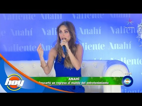 Anahí se lanza como escritora | Hoy