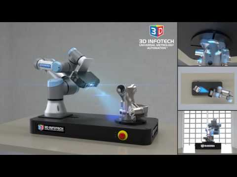 Universal Metrology Automation with UR3 and LMI Gocator