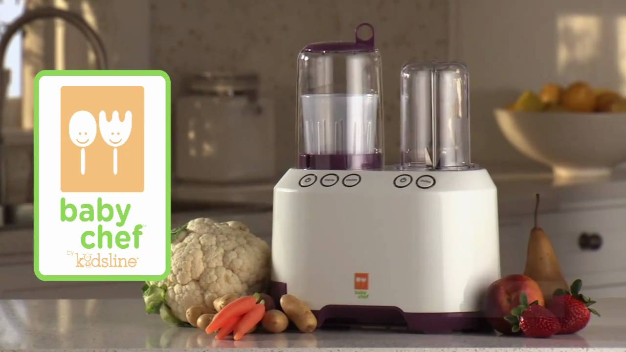 Baby Chef Ultimate Baby Food Center Video