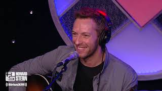 """Chris Martin Performs Coldplay's """"Yellow"""" on the Stern Show (2011)"""