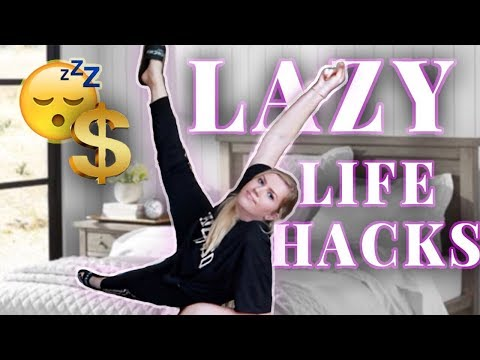LIFE HACKS: HOW TO SUCCEED AS A LAZY PERSON