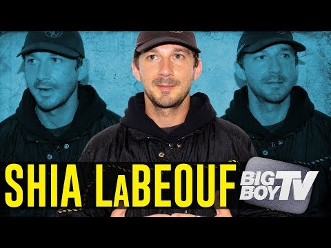 Shia LaBeouf on His Benefit Show 'Sacred Spectacle' Upcoming Movie w/ Bobby Soto, Sobriety